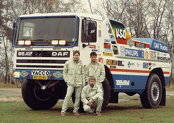 Theo van de Rijt, Kees Loevezijn, Chris Ross - DAF 95 Turbo Twin X2 - 1998 Pari Dakar