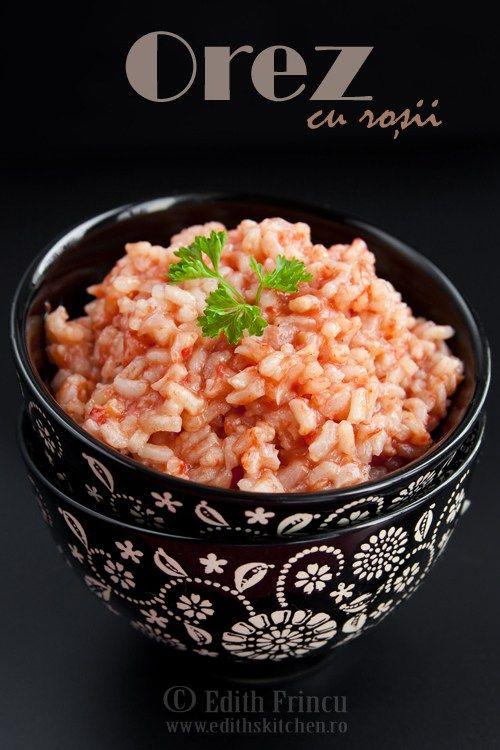 orez cu rosii