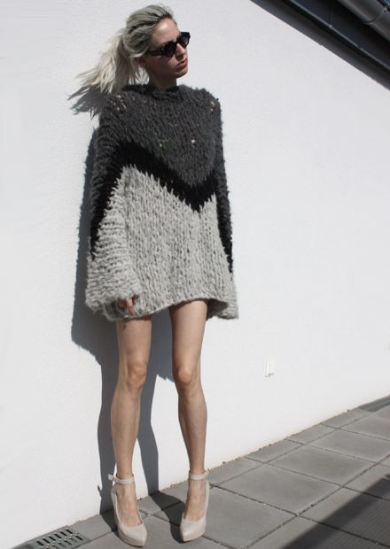 sweater from Gudrun&Gudrun (image: stylorectic)