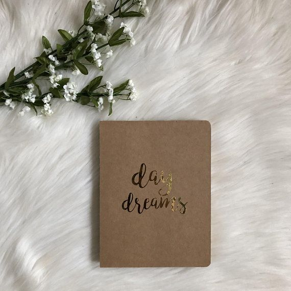 Notebook READY TO SHIP Next Day Dreams Travel Journal Graduation Gift Birthday For Her