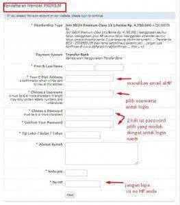 Cara Daftar Member SB1M Sekolah Bisnis 1 Milyar [ register]