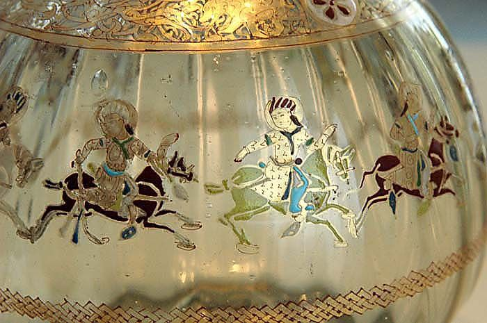 Mamlūk Polo Rider Flask, c.1300AD
