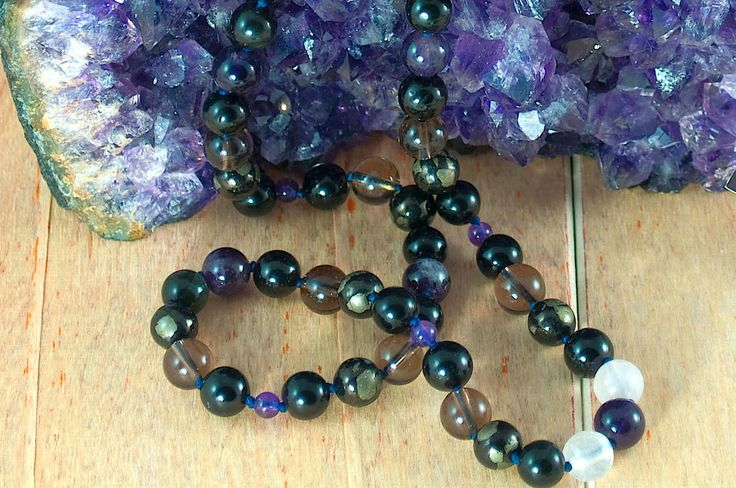 Protection, Gemstone Necklace by InnerCircleJewelry on Etsy https://www.etsy.com/listing/209949196/protection-gemstone-necklace