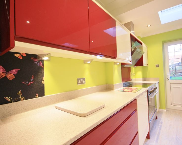 best 13 bold red and cream kitchen design images on pinterest