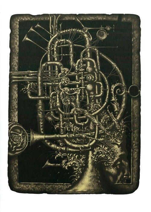 "R. Sustov  ""Jamboree"" lithography 42/62cm. 2013"