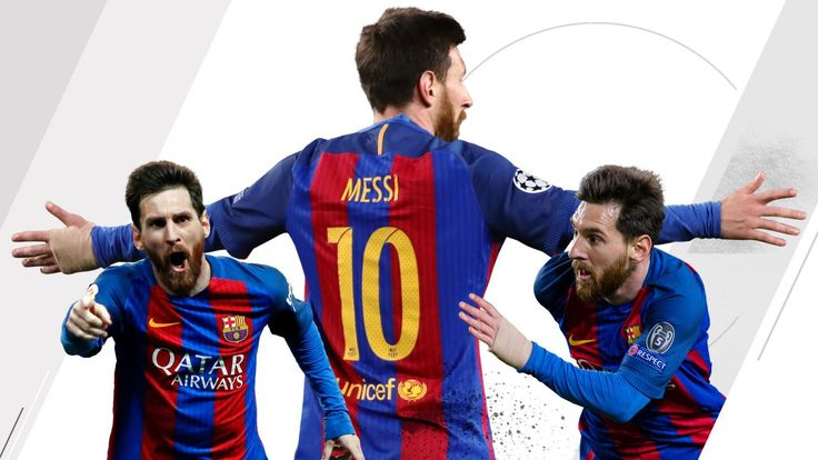Messi was No. 1 in 2016-17