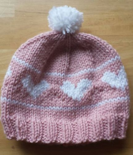 Ravelry: Project Gallery for Heart Monkey Hat - Child Sized pattern by Carrie Workman