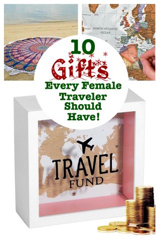 The Perfect Gifts for Christmas for your Lady Traveler! - California Globetrotter