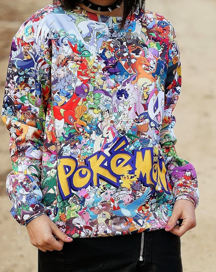 Pokemon Pullover | It's Kendall Kay