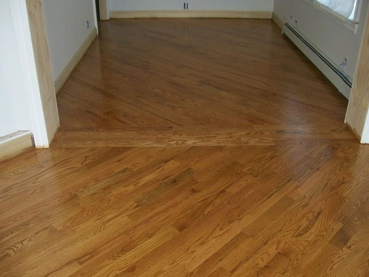 Notice The Diagonal Floor Installation Laying Hardwood