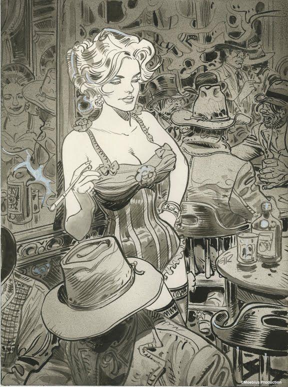 Chiuaua Pearl, por Jean Giraud. Colección Blueberry