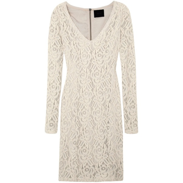 Gestuz Lace Dress ($215) ❤ liked on Polyvore