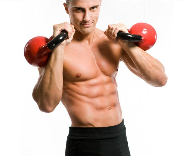 A kettle bell workout will increase your heart rate and work on your core, lower…
