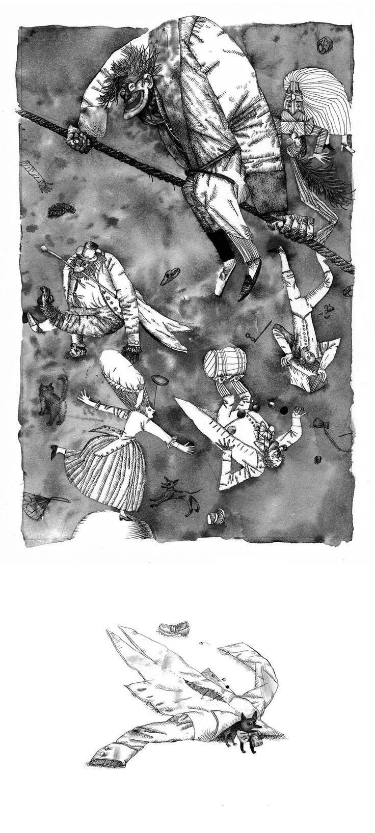 Wilhelm Hauff. Fairytales on Behance