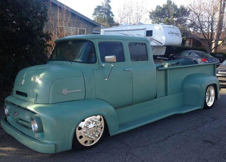 1956 ford coe classic cars trucks big trucks diesel