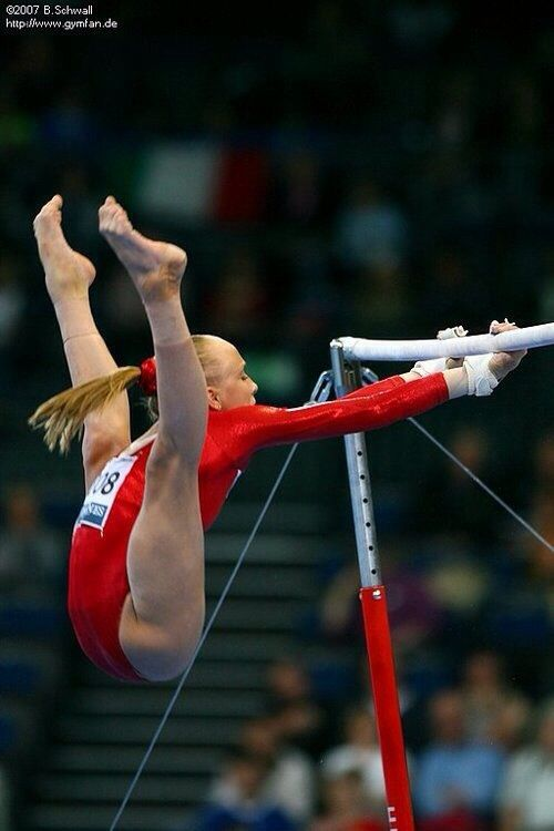 It's crazy how our bodies can actually do stuff like this. I love gymnastics