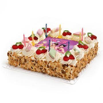 Vier je verjaardag met je idolen van K3 en bestel de origineelste K3-Taart voor een geslaagd verjaardagsfeestje. We kunnen deze verjaardagstaart bezorgen in heel Nederland. Met heerlijke slagroom, spekjes, snoepjes en kaarsjes is de K3-taart leuk om zien en heerlijk om op te eten. Vanaf 10 personen, vandaag besteld, morgen geleverd!
