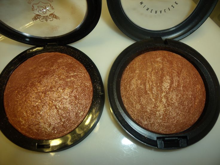 "DUPE ALERT!: Ruby Kisses All Over Glow Bronzing Powder in ""Bronze Glow"" vs. MAC Mineralize Skinfinish in ""Gold Deposit"""