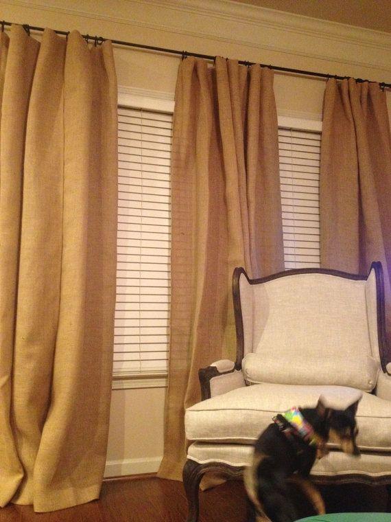 17 Best ideas about Burlap Drapes on Pinterest | Burlap curtains ...