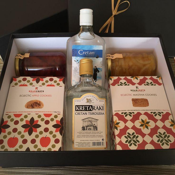 Greek Tastes & Spirits in a Gift Box
