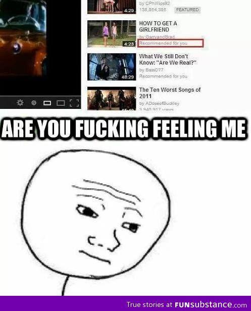 Stop feeling me