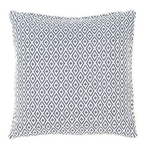 Crystal Navy and White Pillow by Mintwood Home