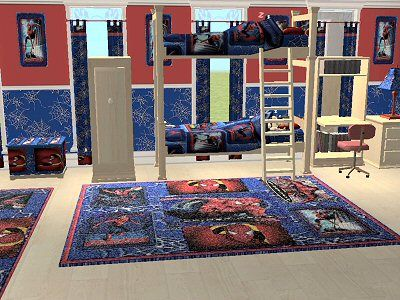 Boys Spiderman Bedroom Ideas | Spiderman Bedroom Theme Decoration
