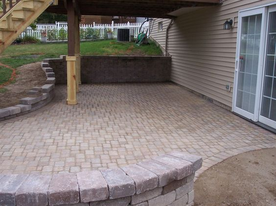 walkout basement patio basement entrance basement ideas patio makeover