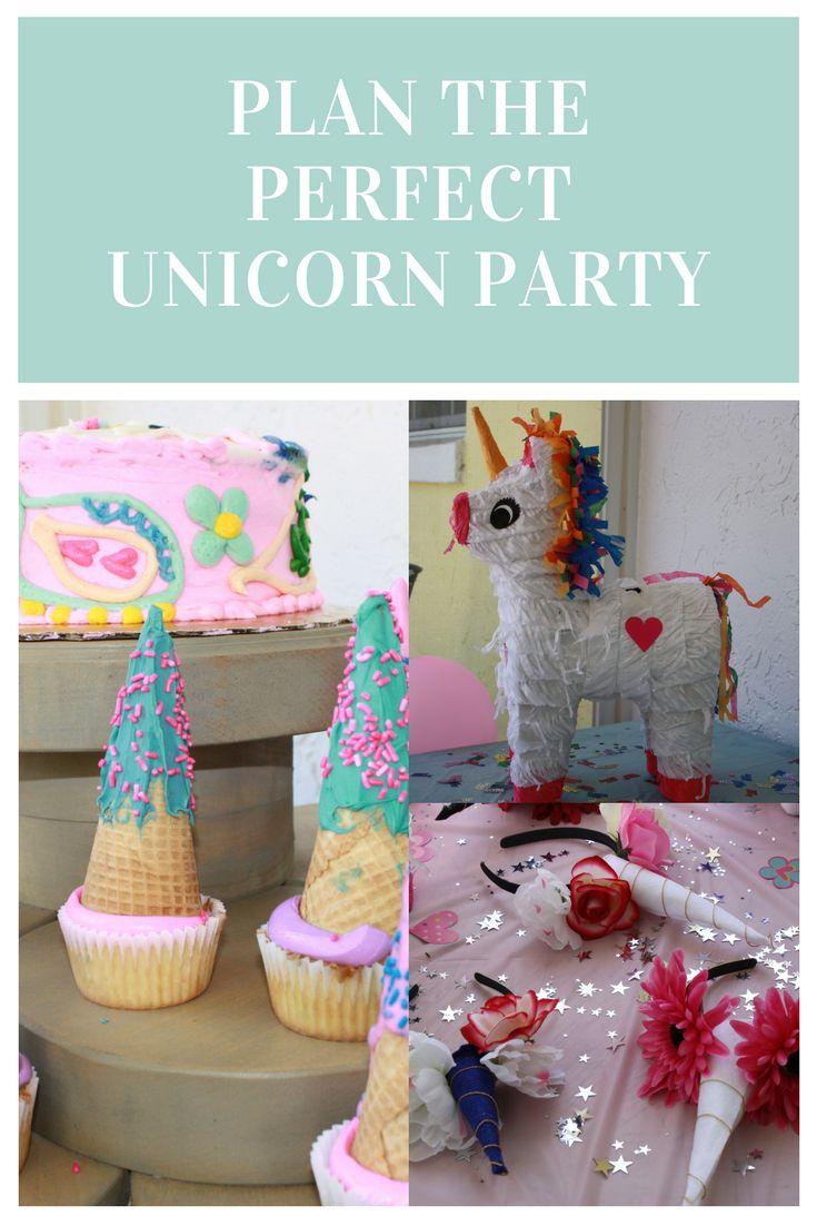 Plan the perfect unicorn birthday party