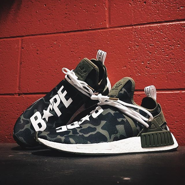 Is this Bape NMD better than the release version ? #ModernNotoriety Custom by @mache275