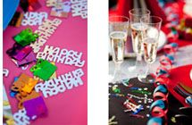 Alpen has some great party products and decorations - perfect for birthday parties, and the increasingly popular 'Christmas in July' events.