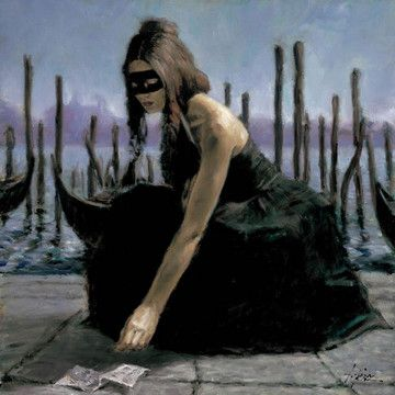 Venice (Oversize Canvas)  by Fabian Perez