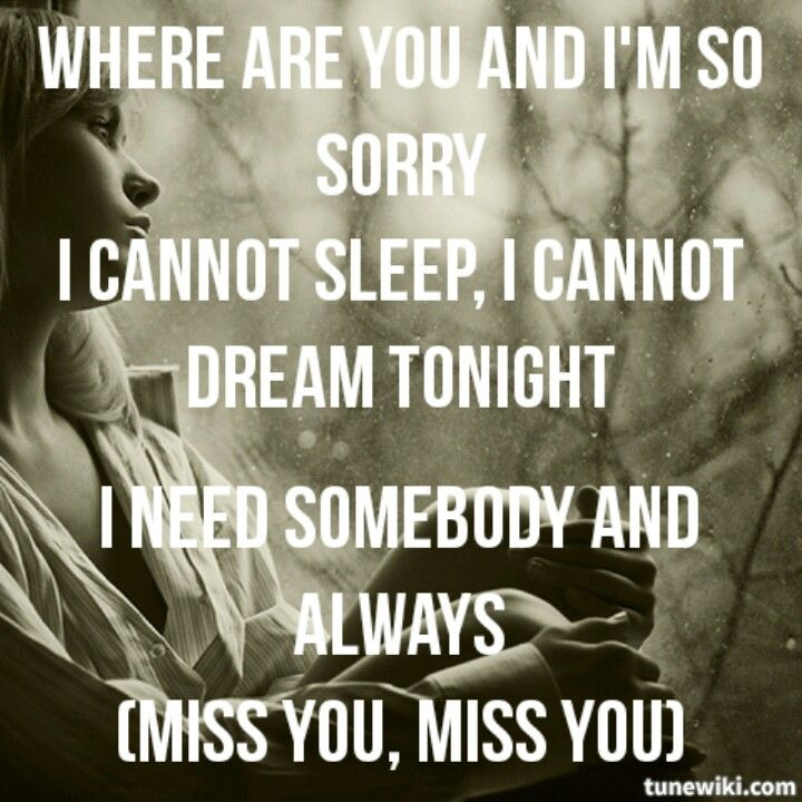 Miss YouBlink 182 Lyrics I Miss You