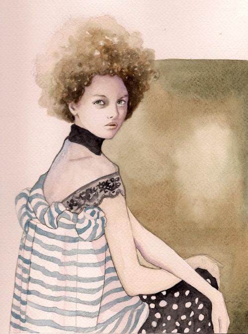 Gemma Ward by Paolo Roversi for Elena