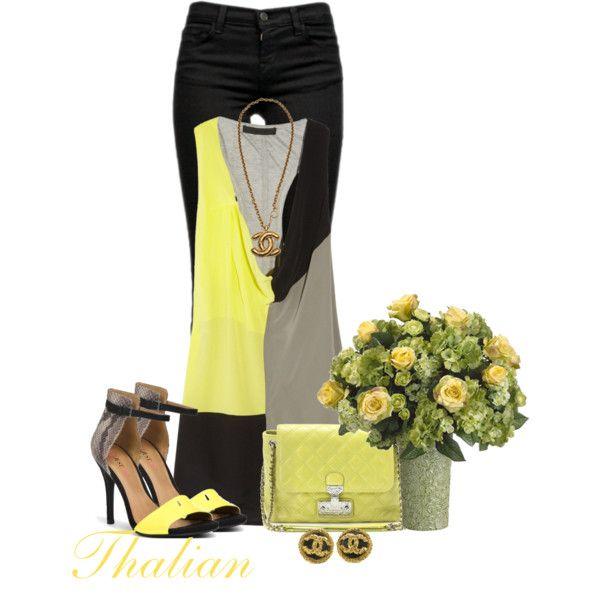 Featuring Aveiro - Yellow JustFab