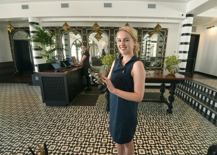 Santa Barbara's Hotel Californian Opens. Our Indochine Cement Tiles are part of the wow factor.