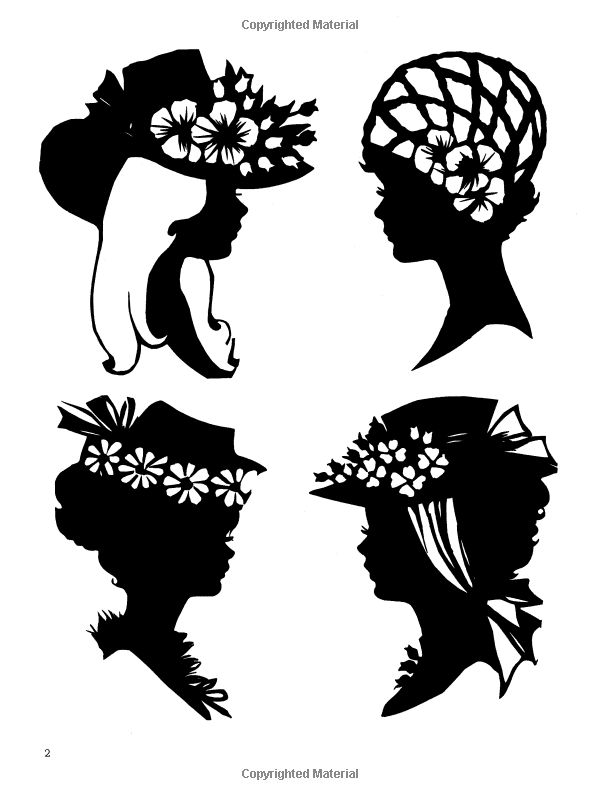 Free Silhouette Designs For Artists And Craftspeople