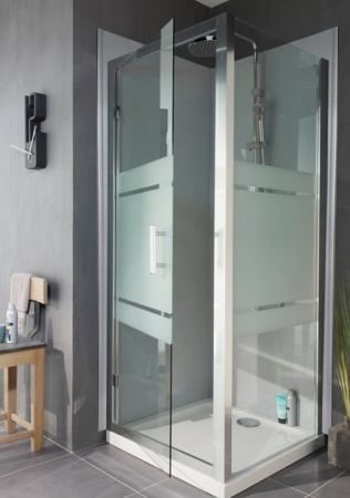 Oltre 25 fantastiche idee su porte de douche pivotante su pinterest porte g - Porte de douche coulissante pas cher ...