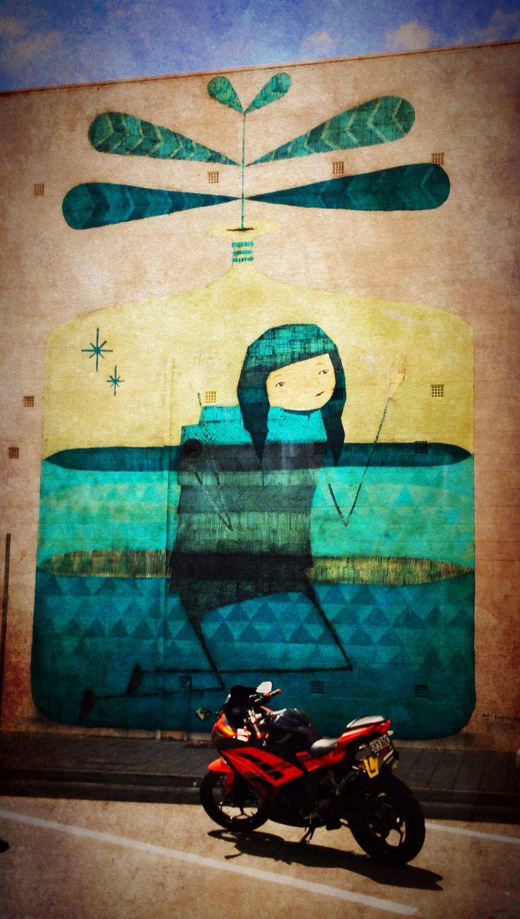 Pt Adelaide street art