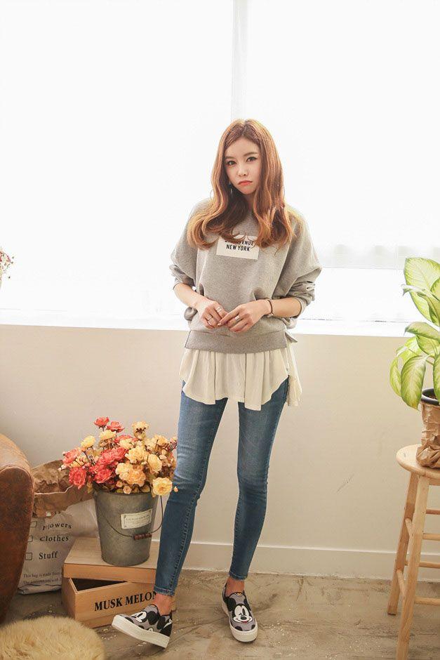 5th NY Print Sweater