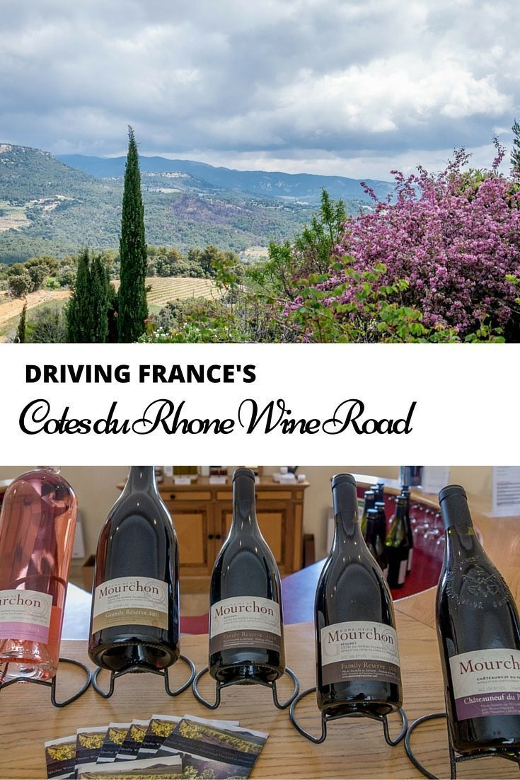 Frances hospitable Cotes du Rhone region is famous for its wine, but the appeal goes beyond that. It offers charming villages, ancient ruins, and views that will make you want to stay awhile | A Day on France's Cotes du Rhone Wine Road