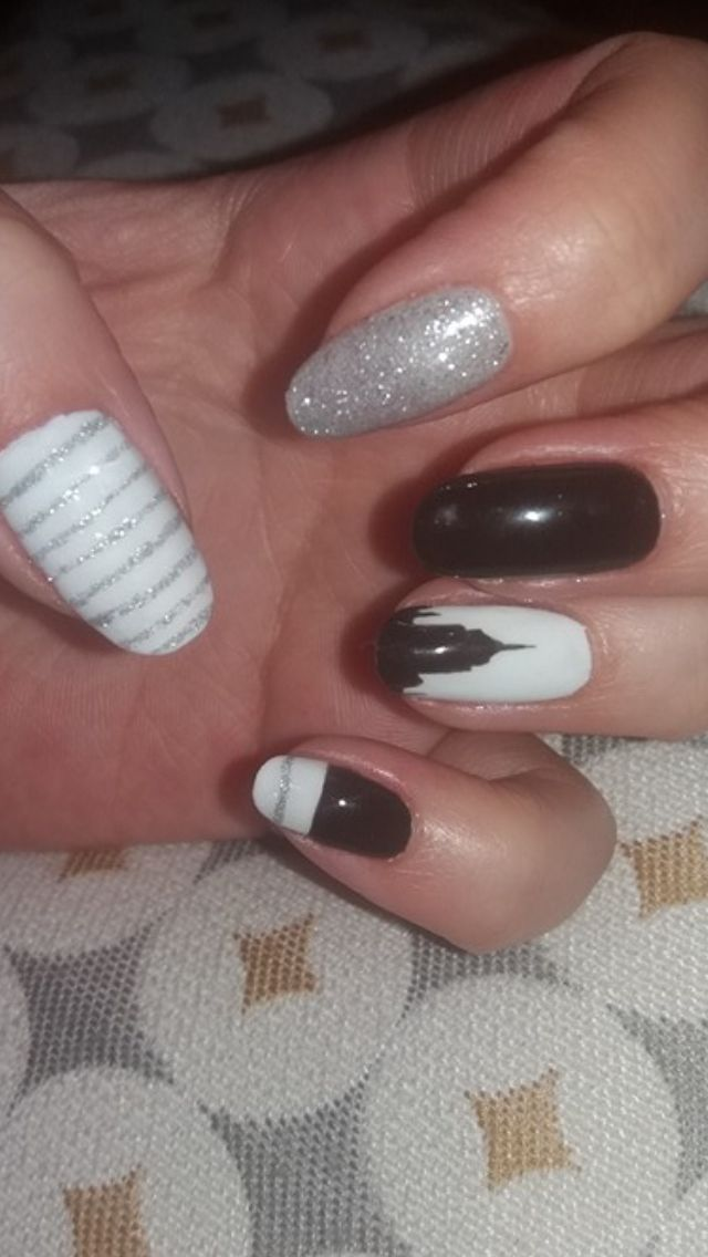 Magnificent New York Nail Designs Mold - Nail Paint Design Ideas ...