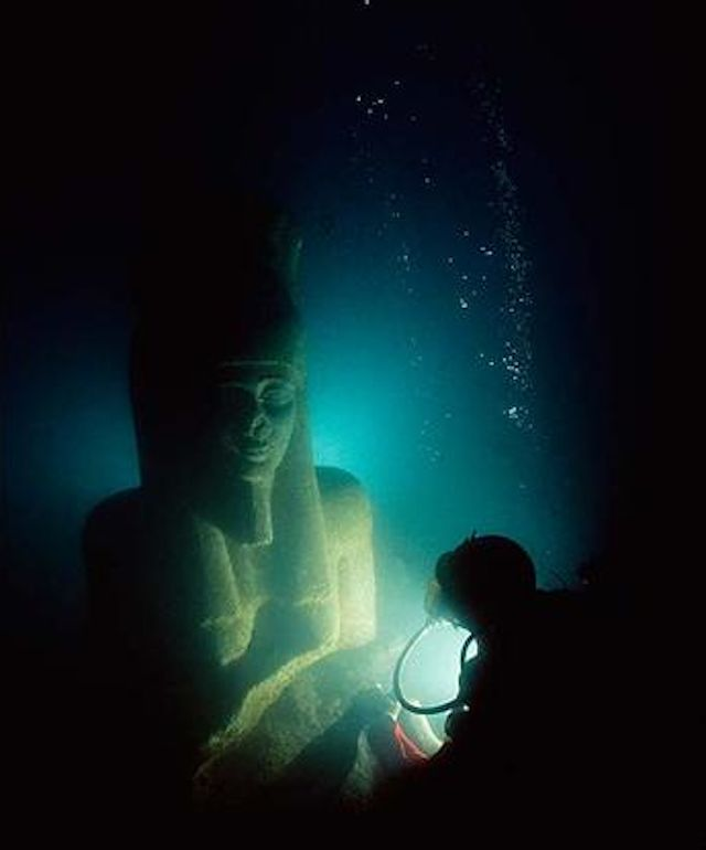 Best TESOROS HUNDIDOS Images On Pinterest Under The Sea - Explorers discover ancient 1200 year old egyptian city