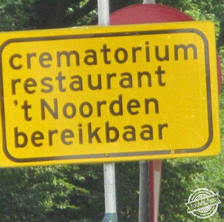 Het menu blijft een 'verassing'. #taalvout (Met dank aan Melakubulsink!)