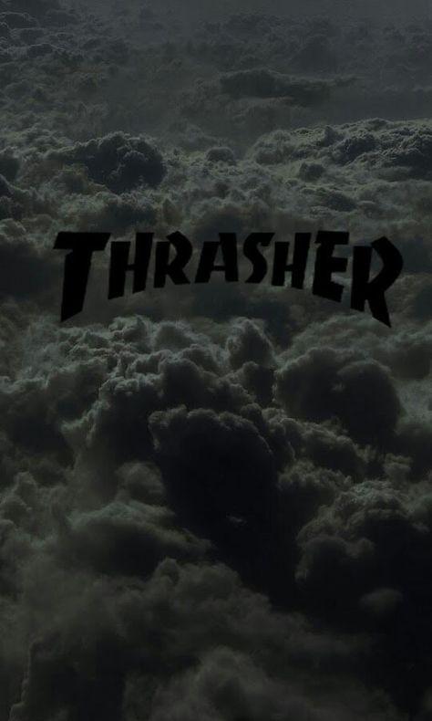 Thrasher Logo Tumblr Sfondi Cellulare Hype Nel 2019 Thrasher