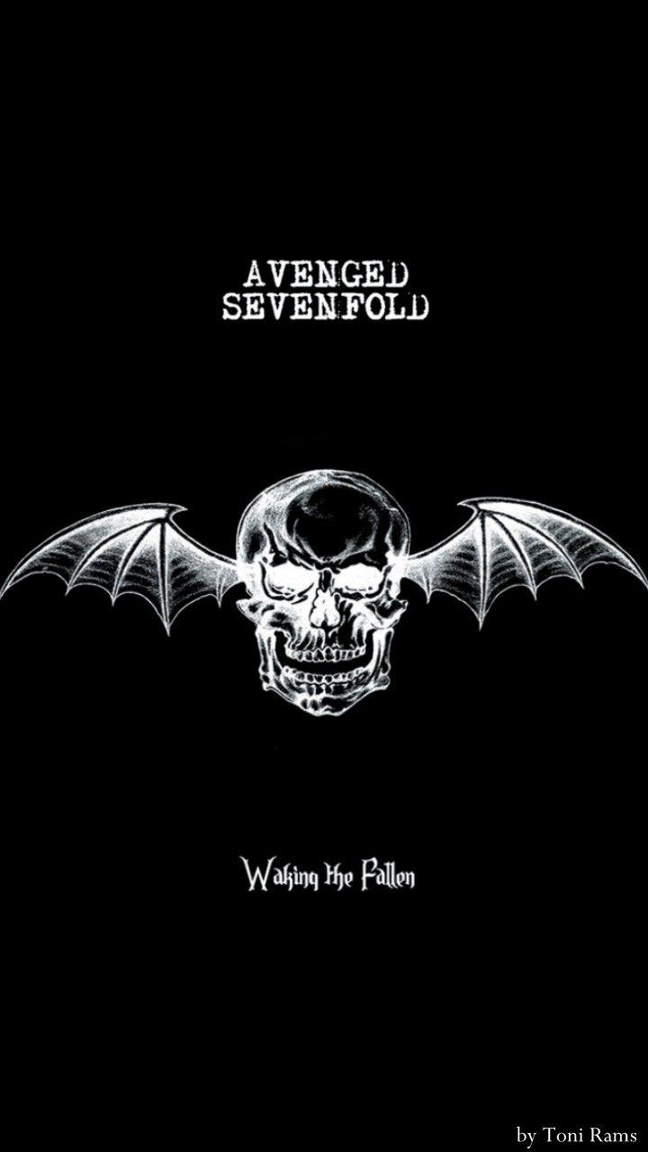 Avenged Sevenfold Wallpaper : avenged, sevenfold, wallpaper, Waking, Fallen, Wallpaper, Seniman, Jalanan,, Lambang, Negara,