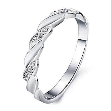 mannen vrouwen houden plantium staal hoogglans gepolijst gift ring koppels ring – EUR € 5.99