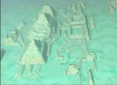 Atlantis Found? Giant Sphinxes, Pyramids Found In Bermuda Triangle