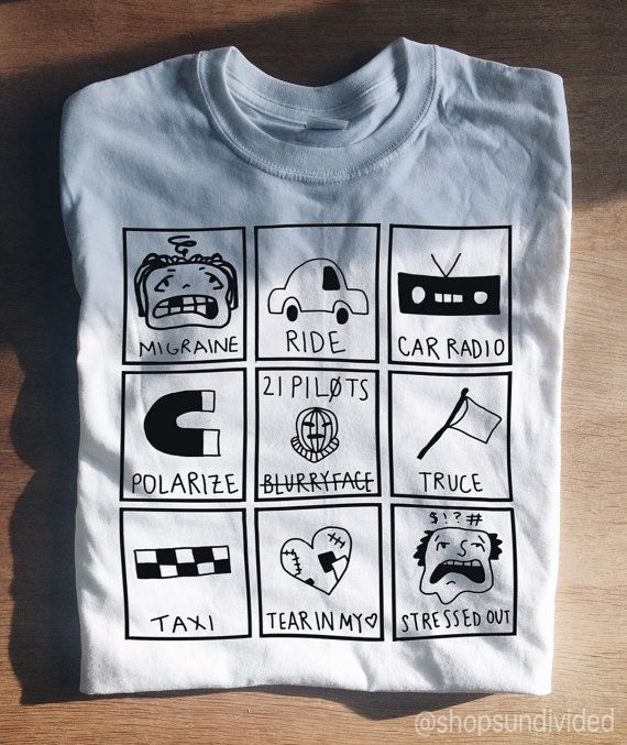21 Pilots T-Shirt by Sundivided on Etsy