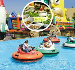 Pase de día Divertido: Parque Mundo Fantasía + Buffet  www.marinador.com